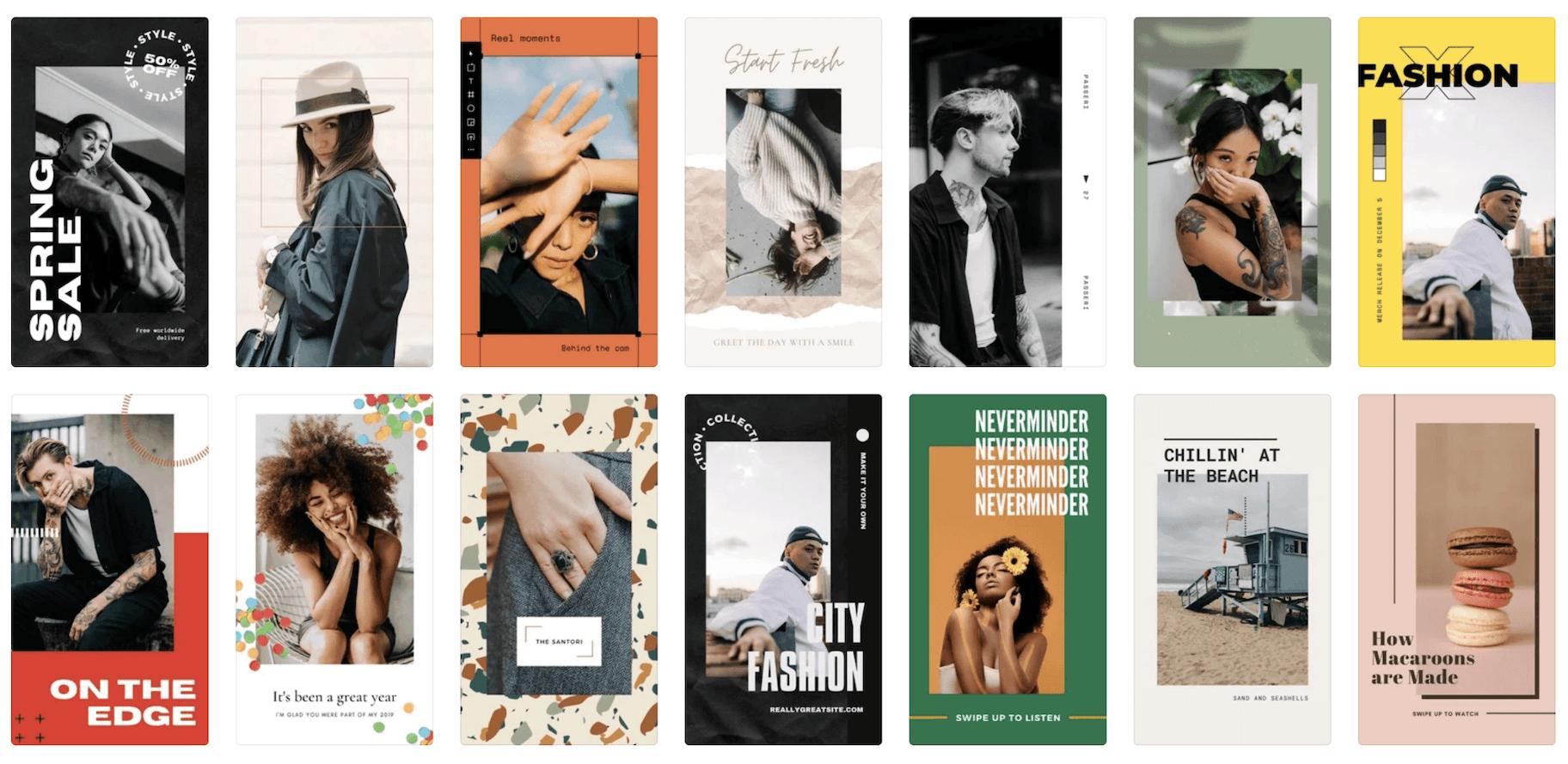 Canva Instagram Story Design Templates