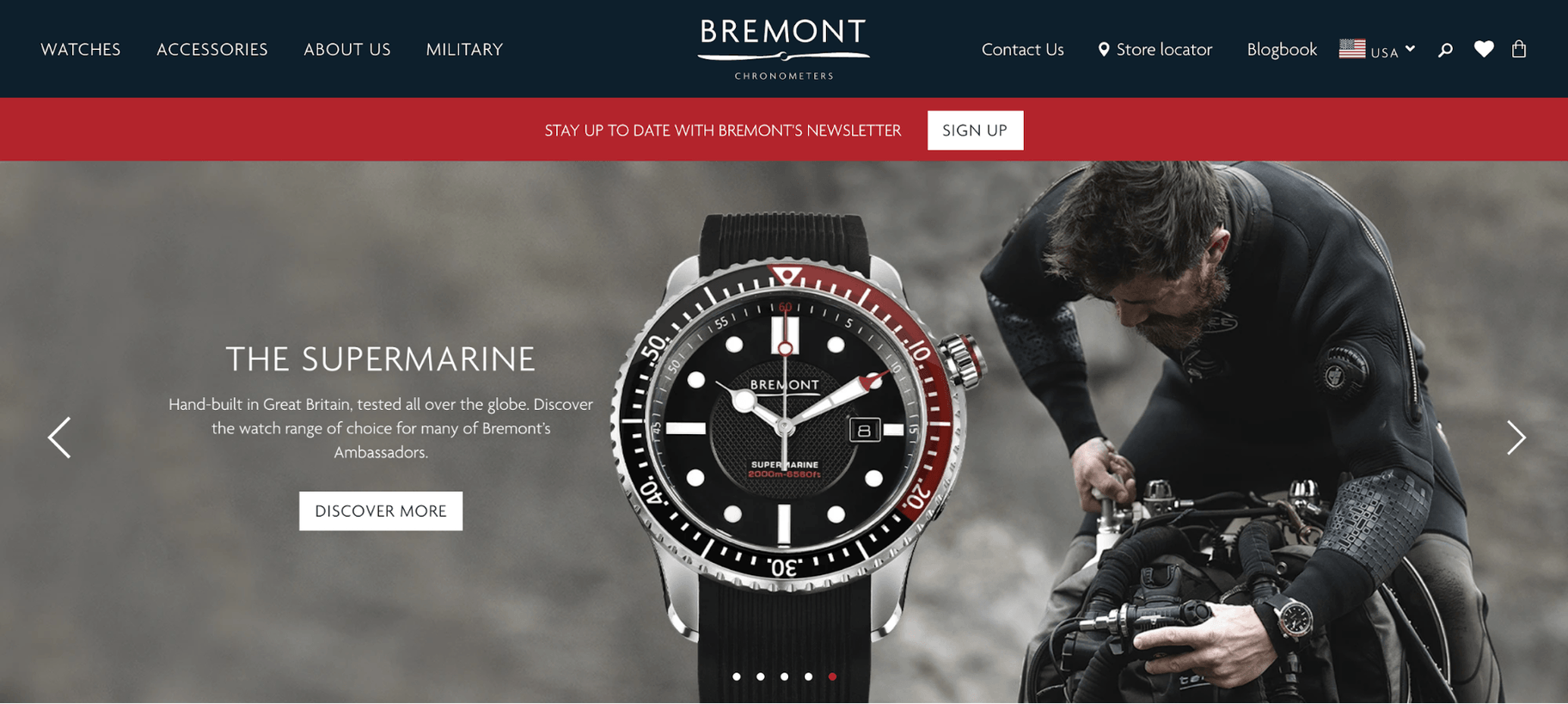 Bremont Website