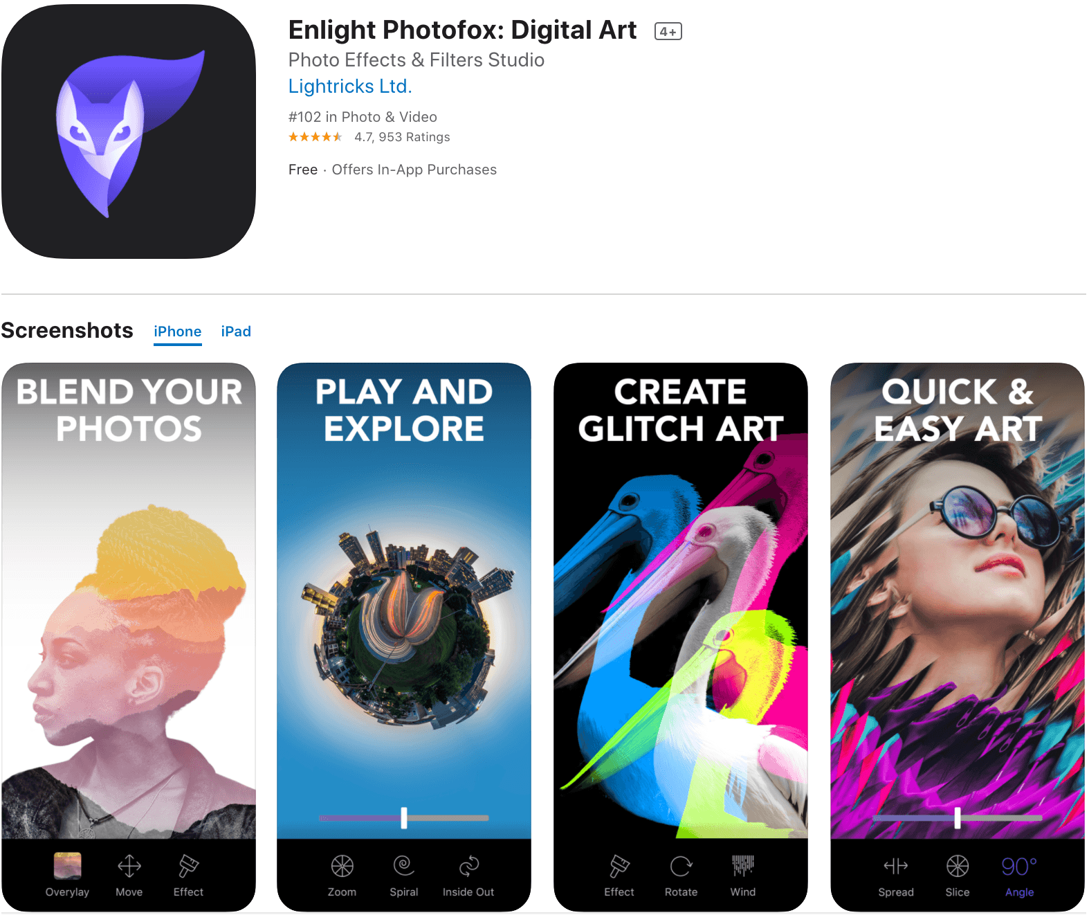 Enlight Instagram Story Design App