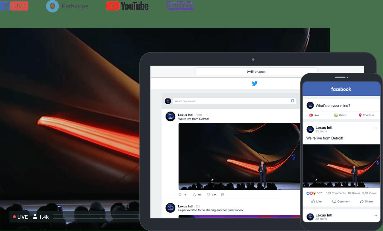 vimeoo livestream
