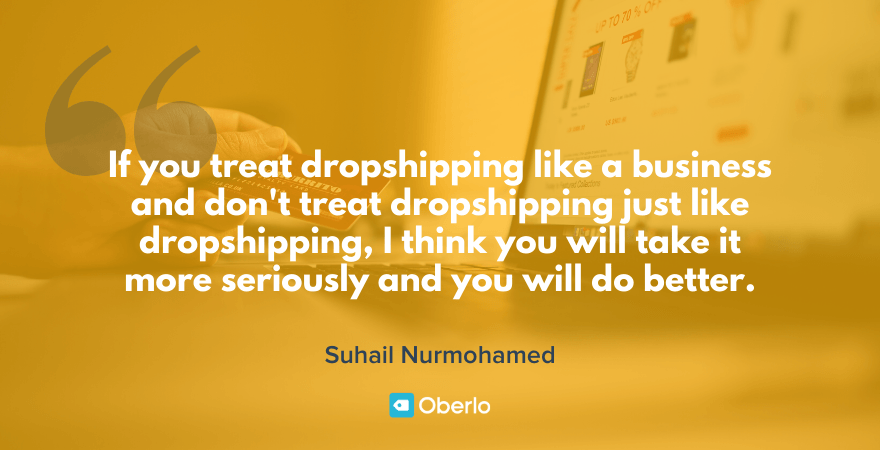 best dropshipping quote from mordechai arba