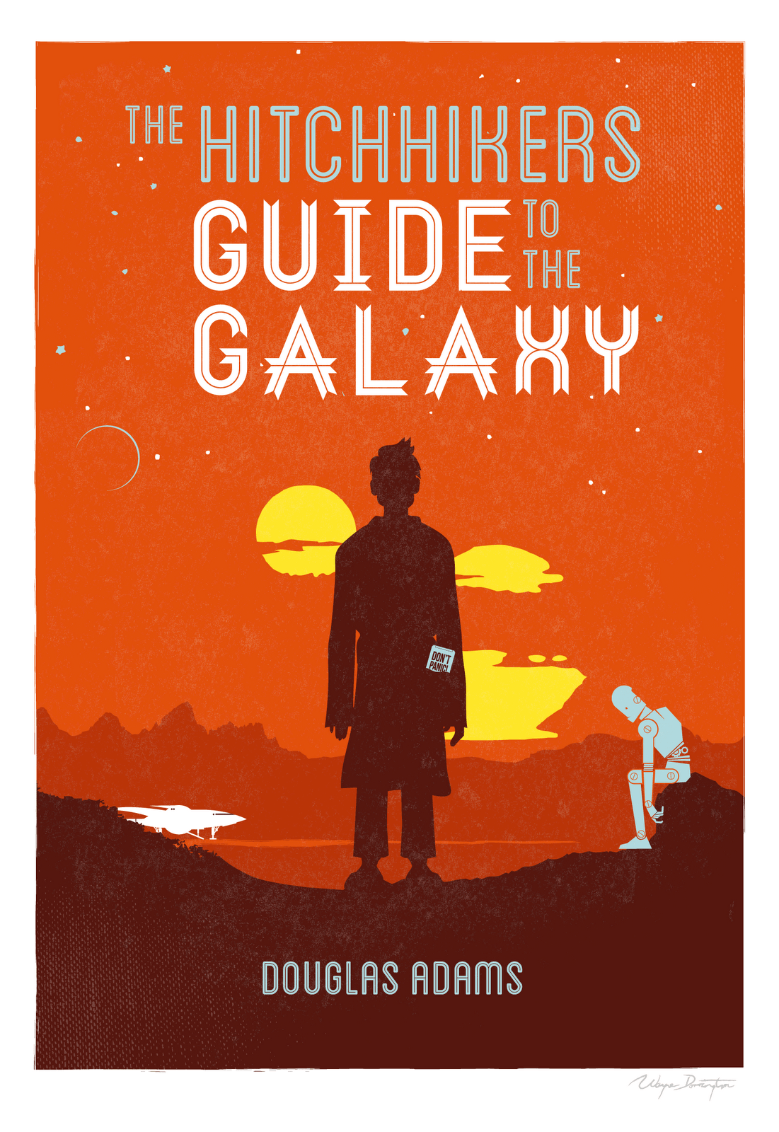 The Hitchhikers Guide to the Galaxy – Douglas Adams