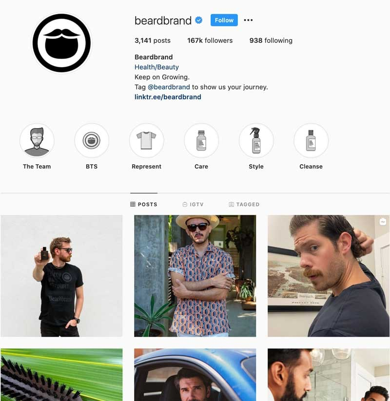 Instagram Success Stories - BeardBrand