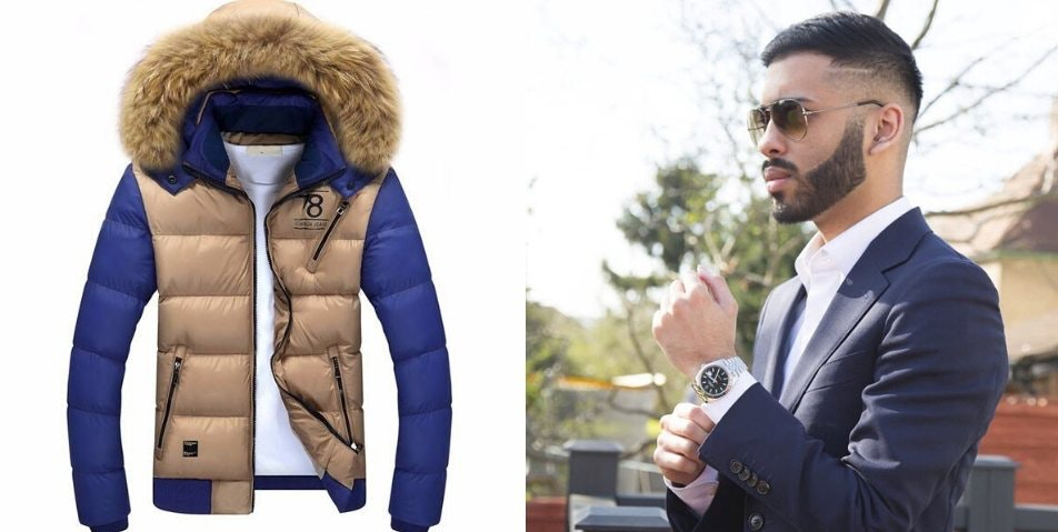 Suhail Nurmo and AyWear Jacket