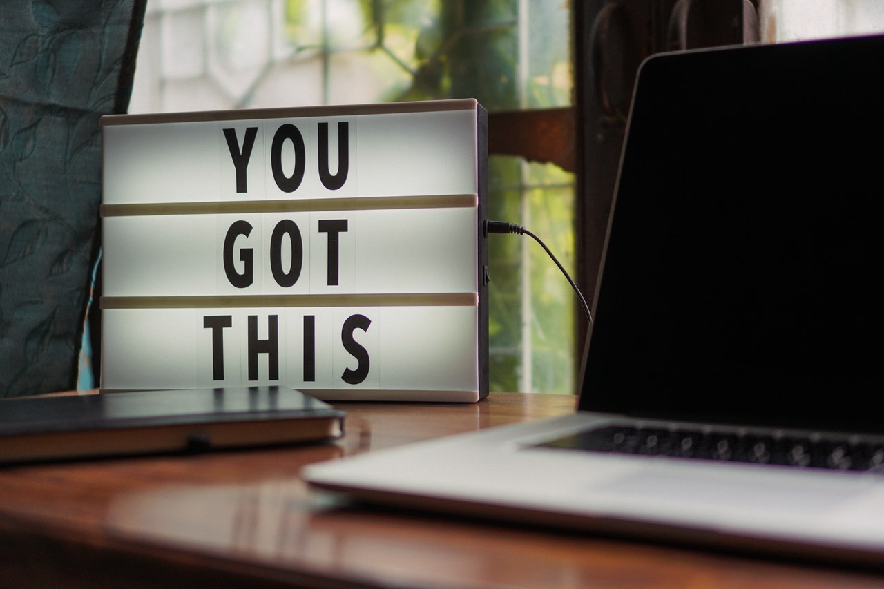 customize your home office with motivational posters