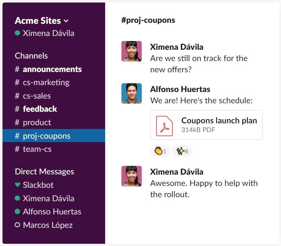 slack for remote teams