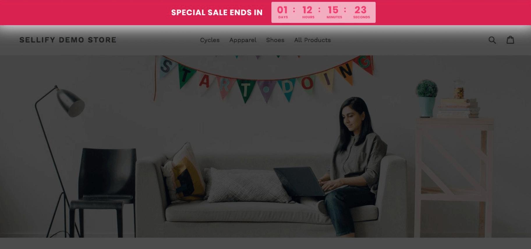 sales promotion strategies countdown