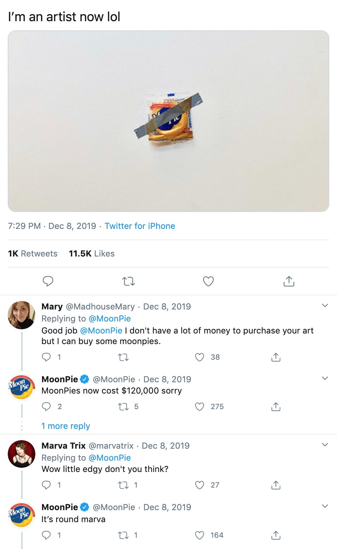 MoonPie Tweet Social Media Campaign