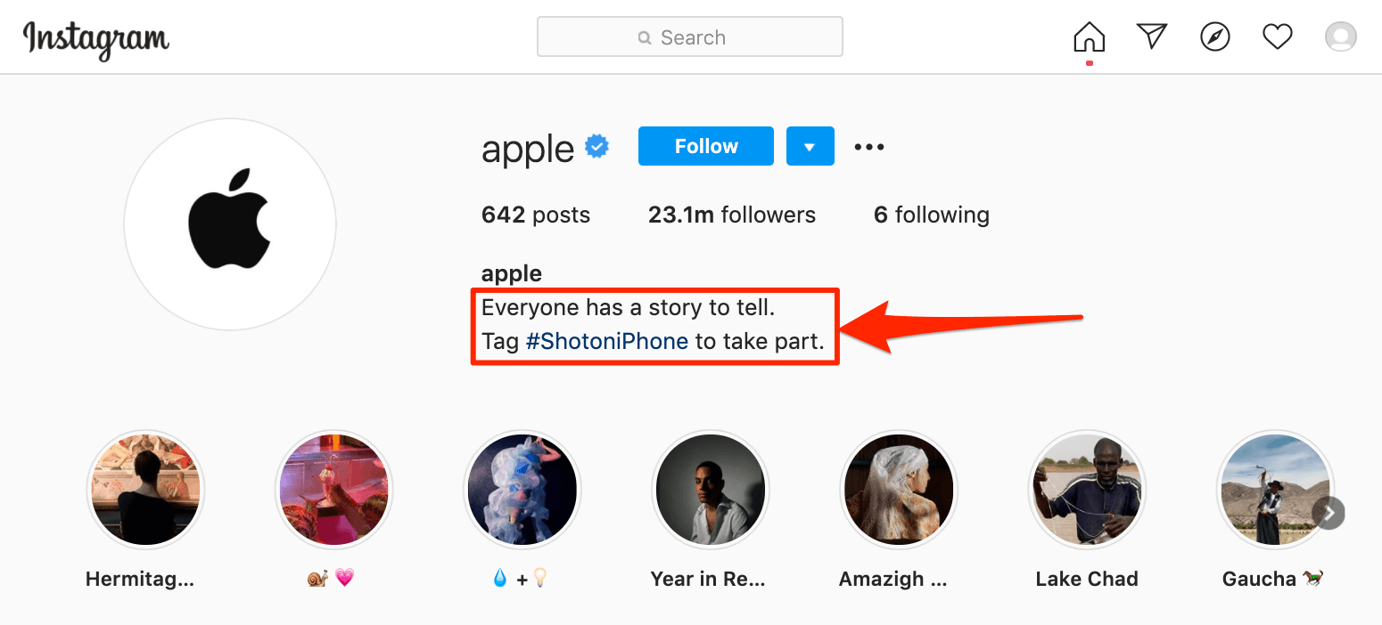 Apple #ShotoniPhone Social Media Campaign