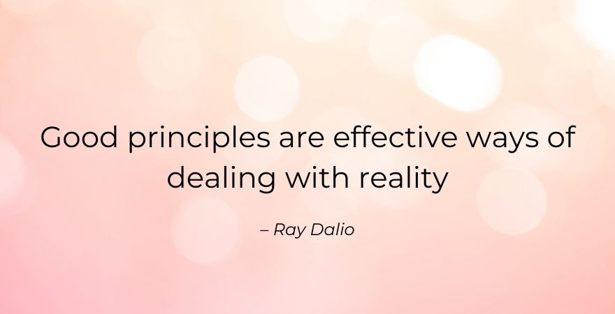 good principles