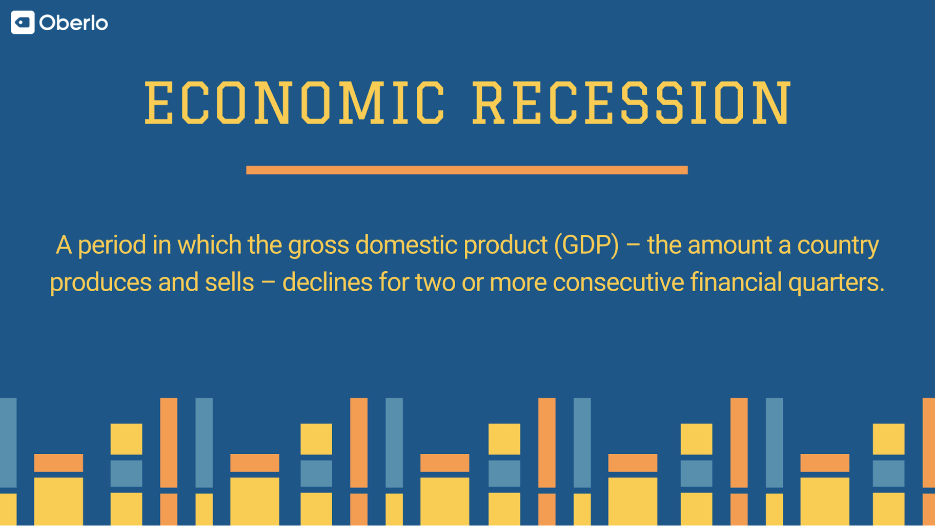 Economic Recession Definition