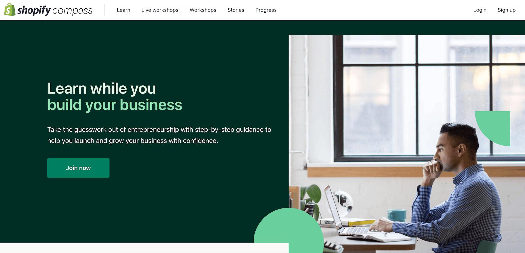 Shopify Compass: migliori corsi online gratuiti