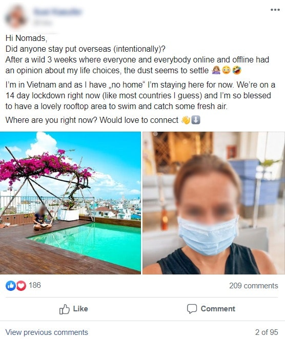 coronavirus and digital nomad