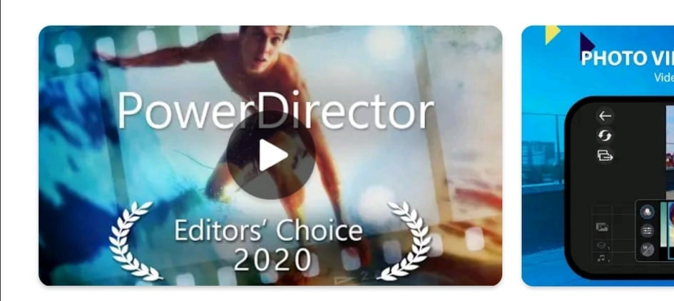 PowerDirector - Video Editor App for Instagram