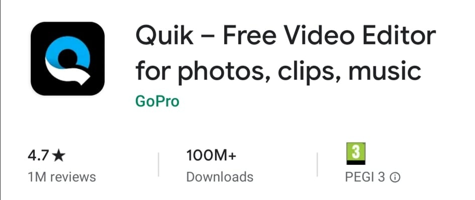 Quik - Free Video Editor App for Smartphones