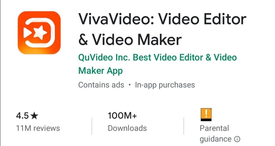 VivaVideo - Instagram Video Editing App