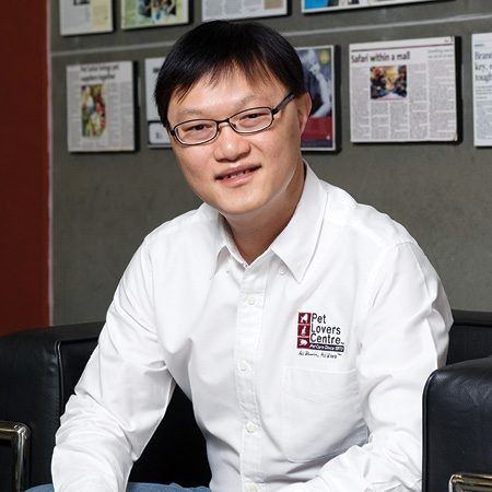 David Ng Whye Tye, CEO of Pet Lovers Centre