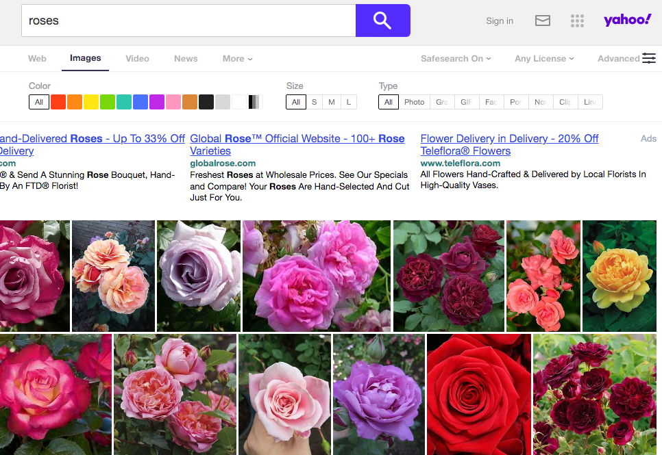best image search engine Yahoo