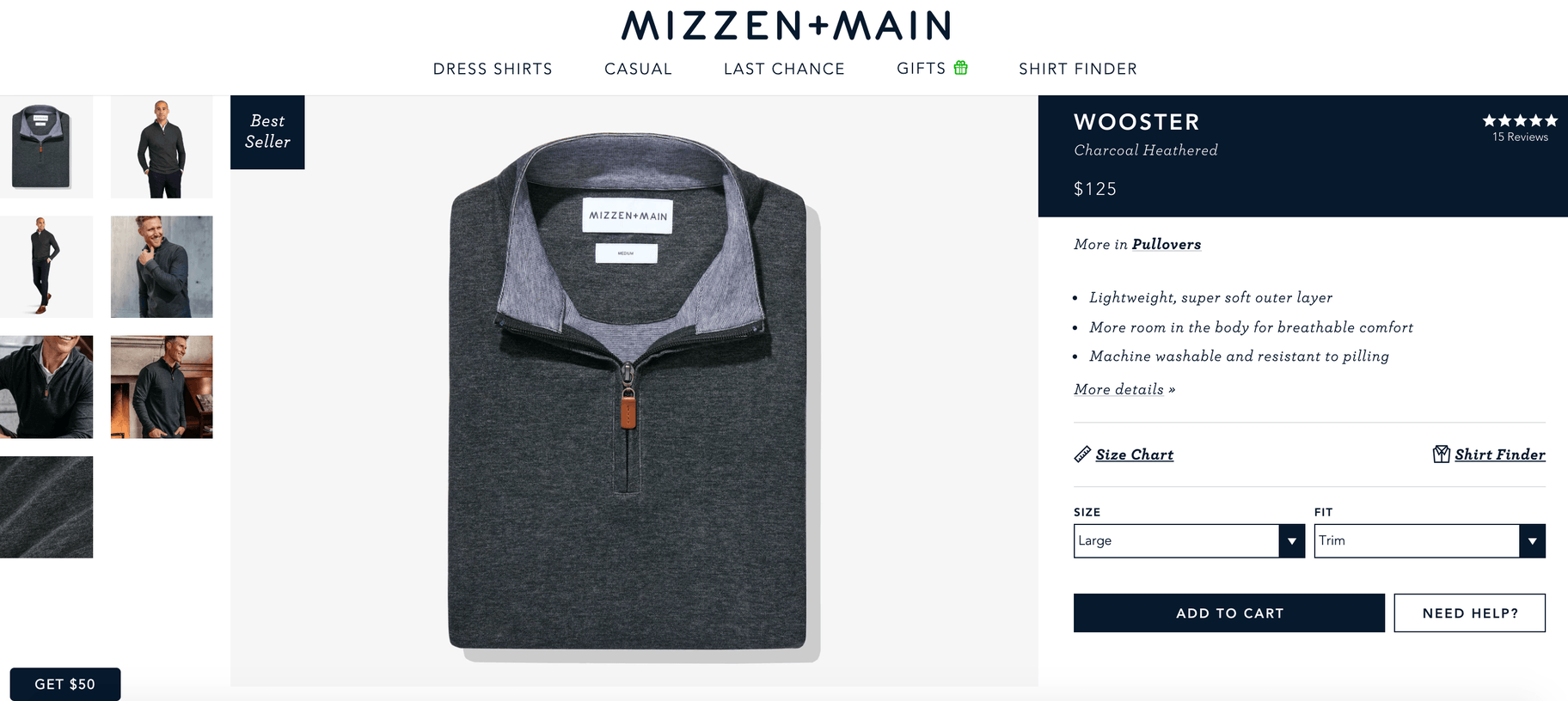 mizzen main product