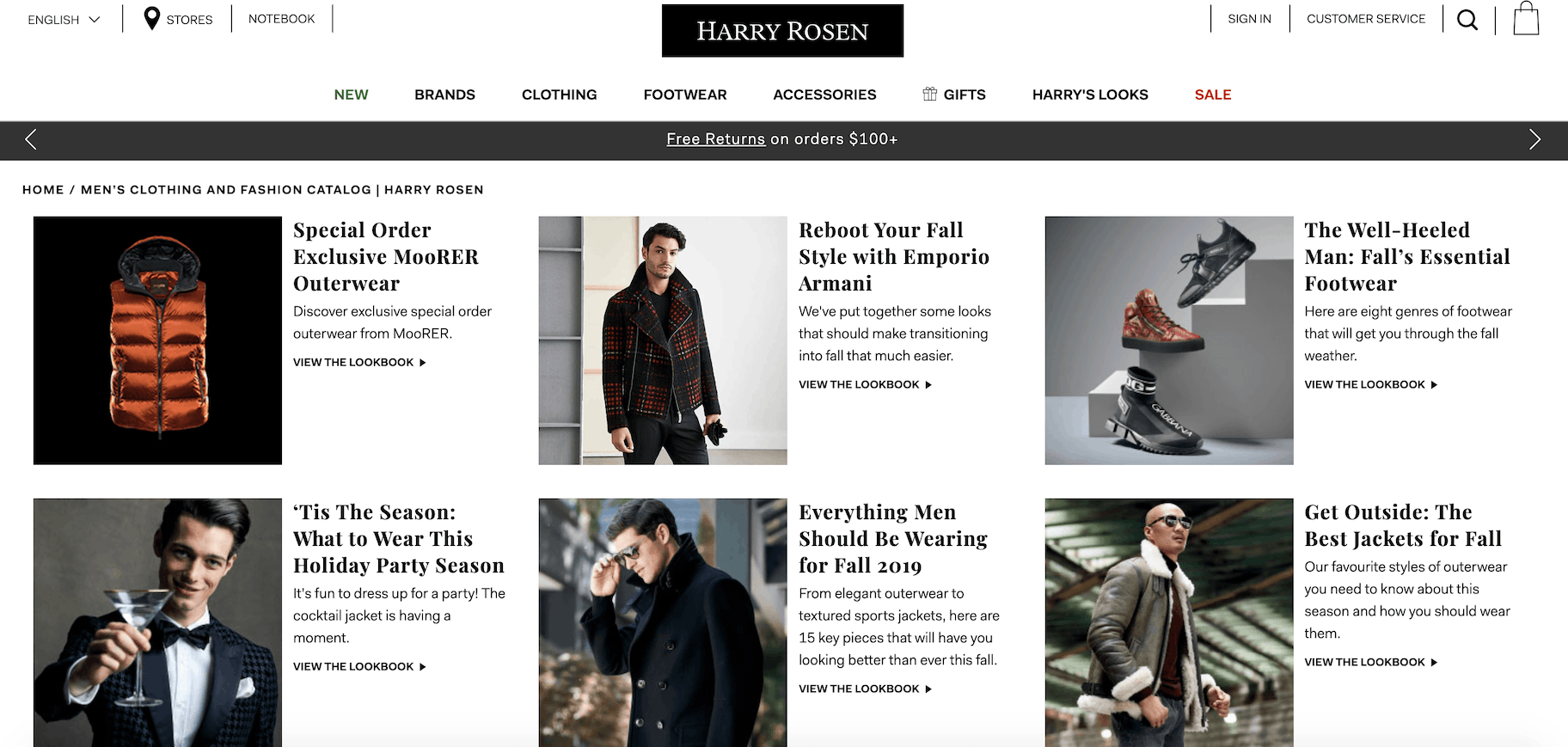 harry rosen blog