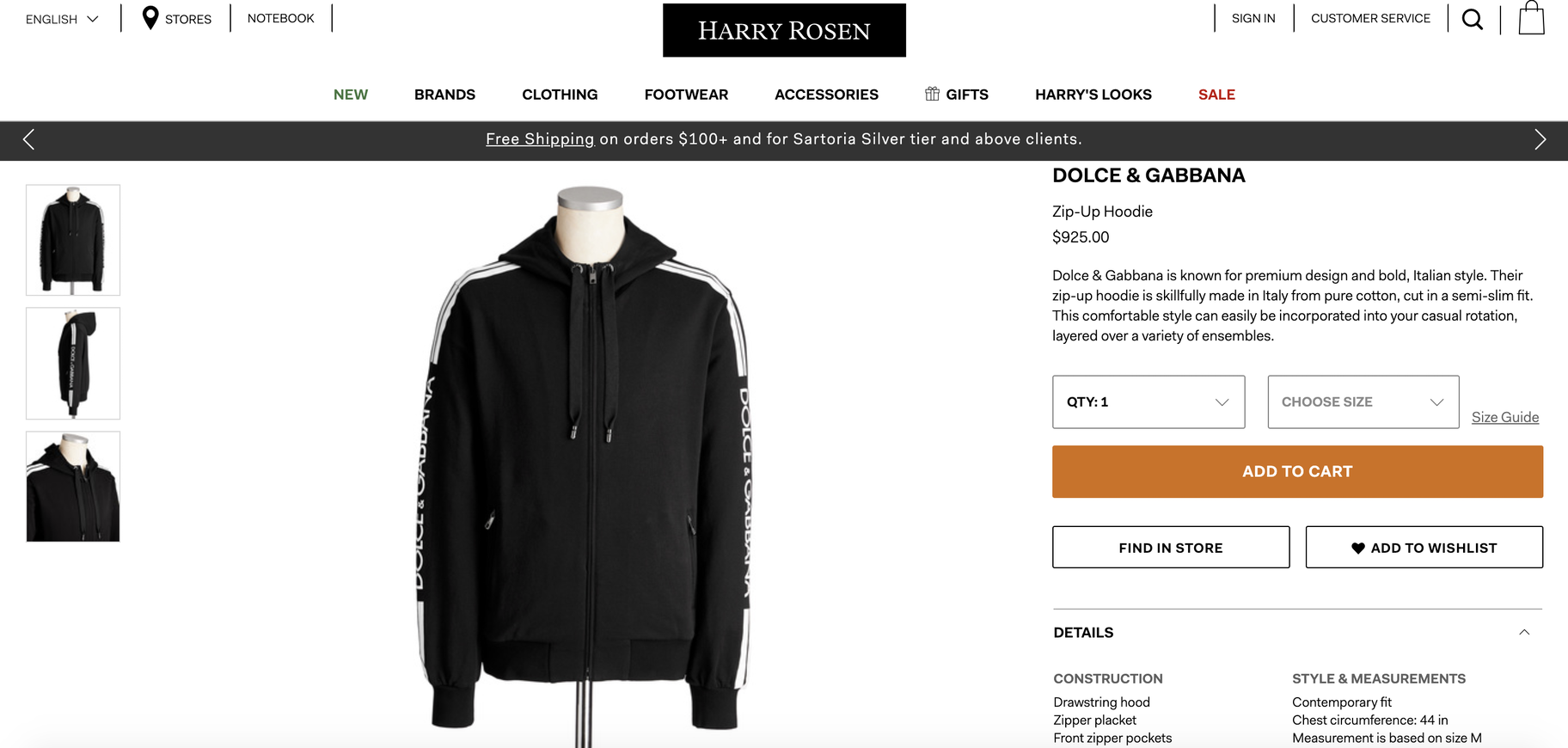 harry rosen product