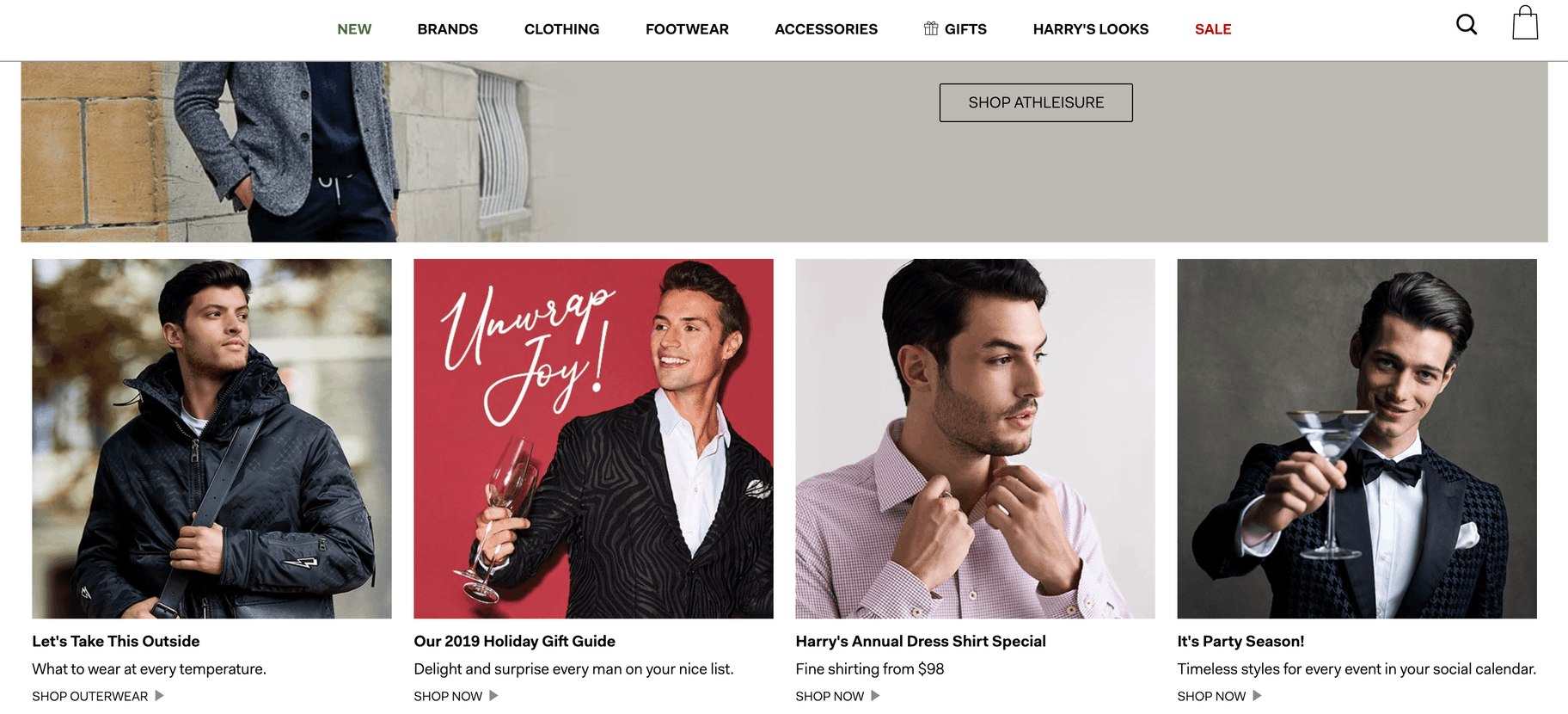 men's fashion websites