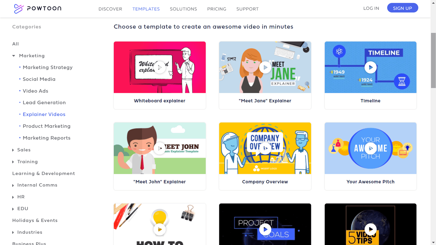 best explainer video tools