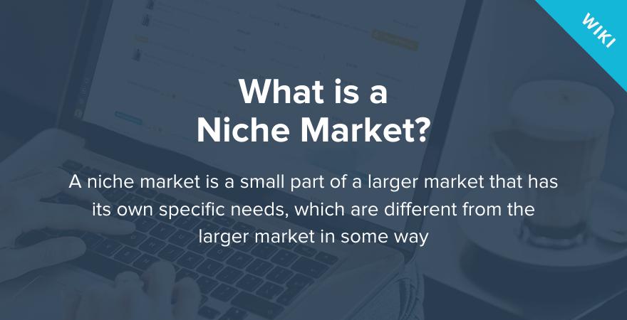 What is a Niche Market   Niche Market Definition - Oberlo