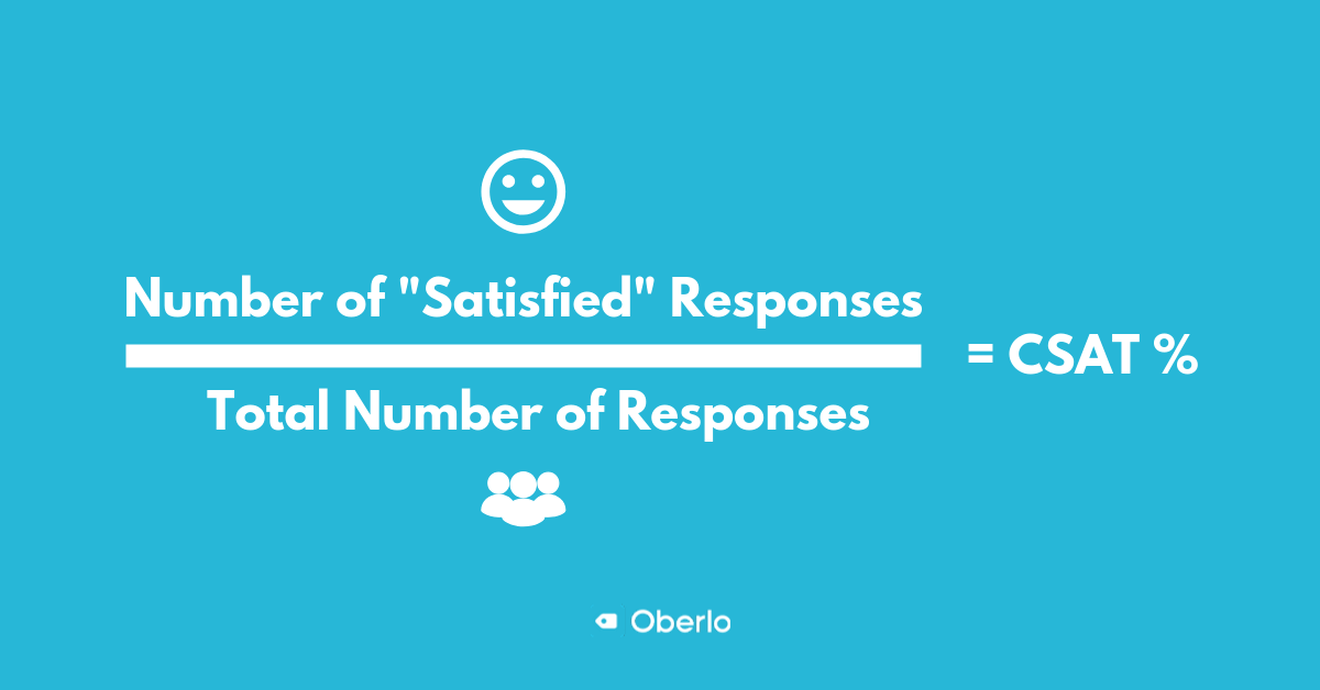 how to measure customer satisfaction score