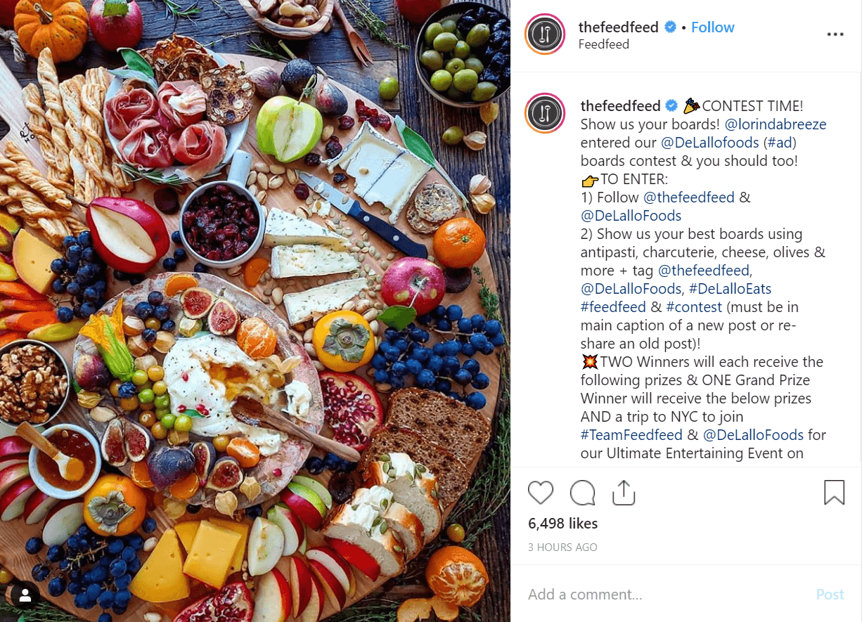Thefeedfeed influencer marketing