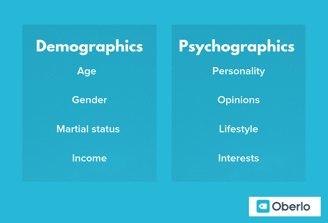 demographics vs. psychographics