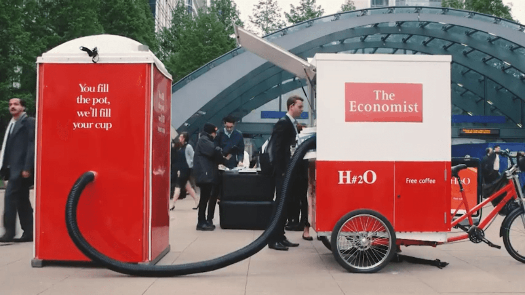 The Economist's experiential marketing