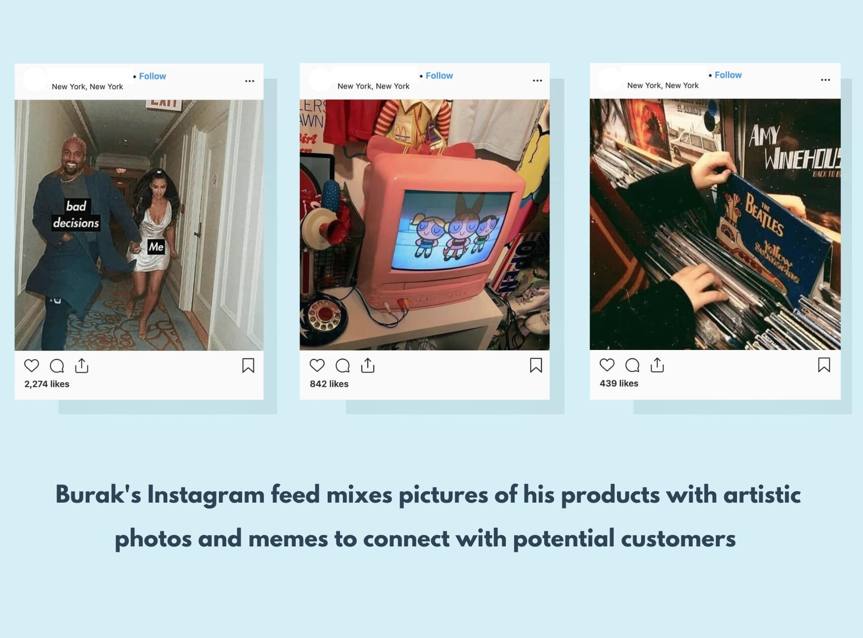 examples of successful instagram posts