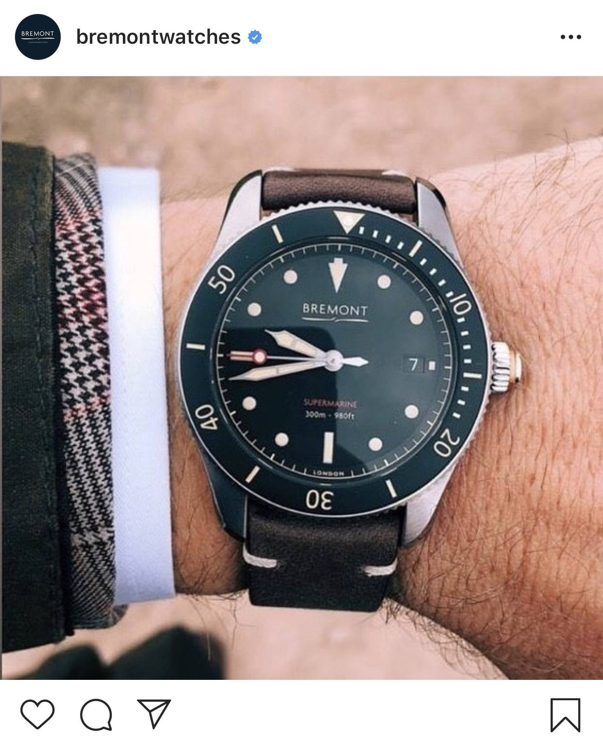 bremontwatches insta account