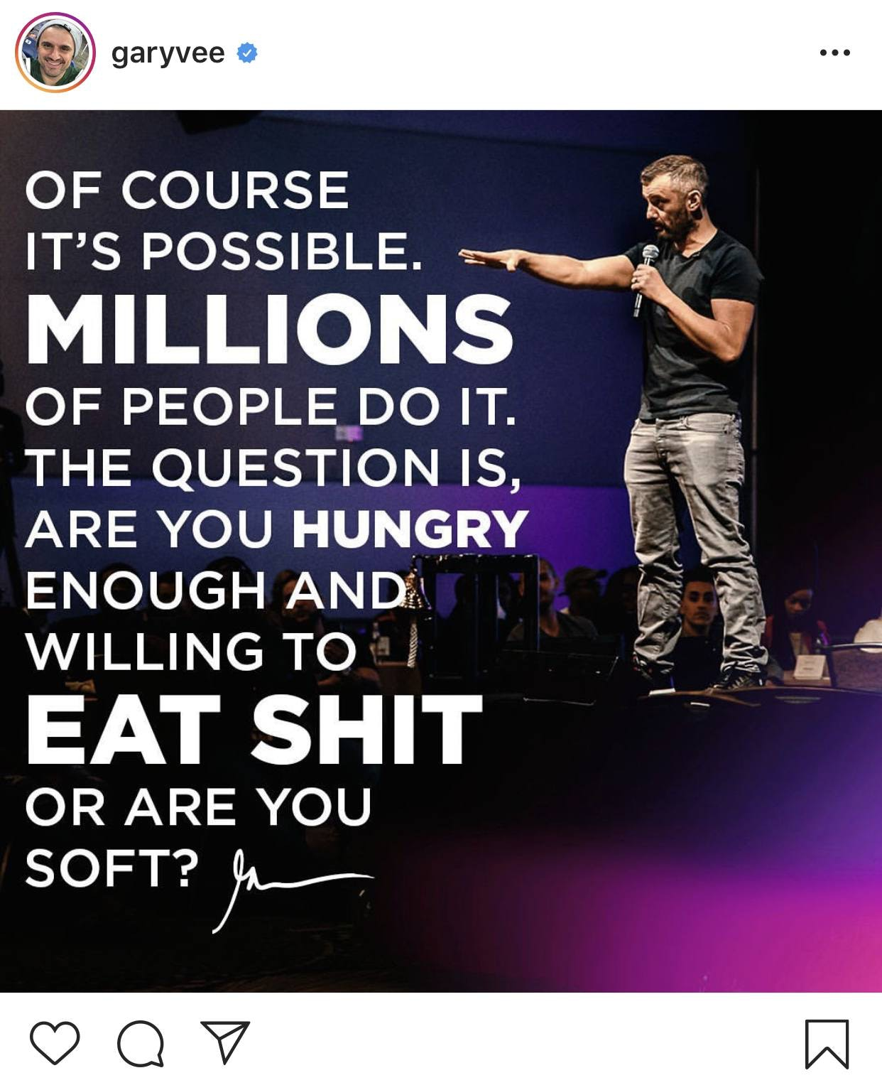 Gary Vaynerchuk instagram account