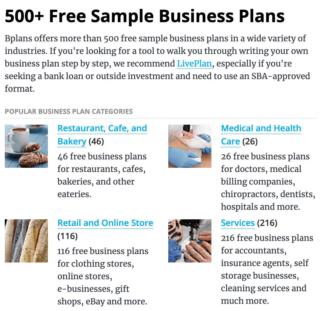 Business Plan Online