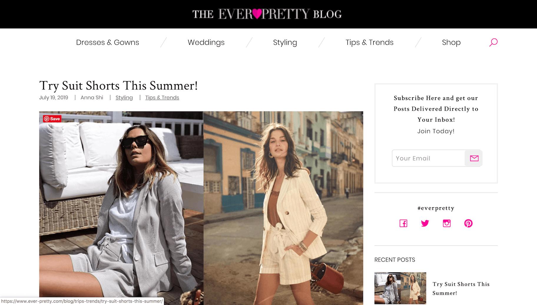 Ever-Pretty blog