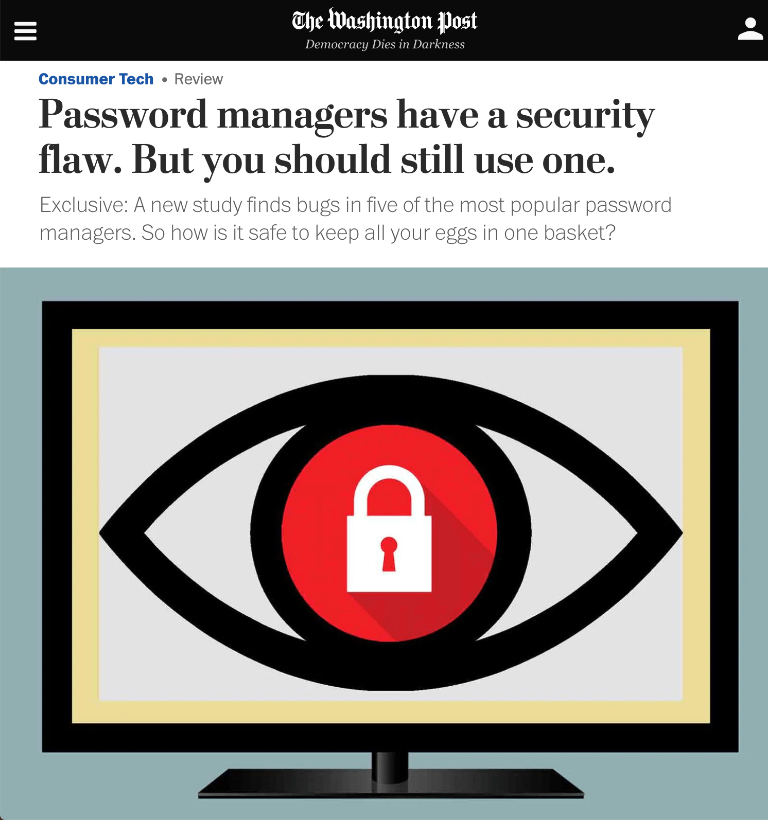 Password Manager Flaws