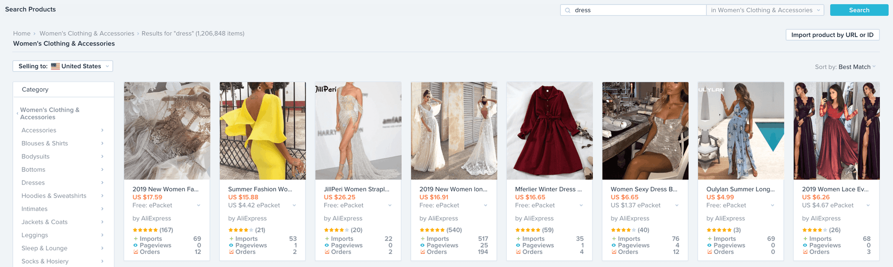 using oberlo on shopify