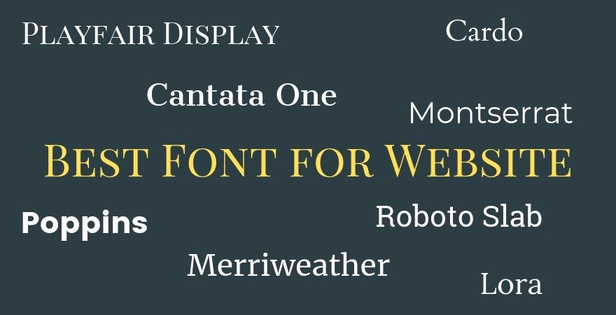 Best Font for Website