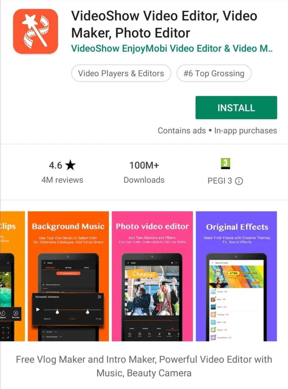 VideoShow Mobile Video Editor