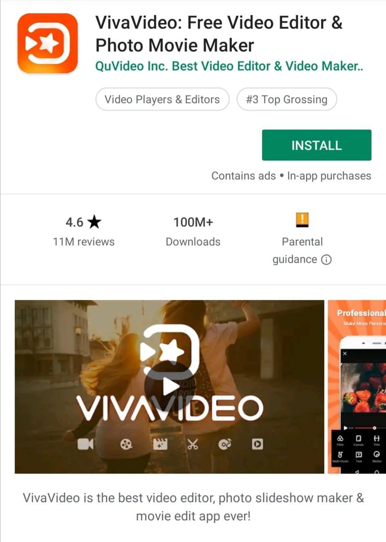 VivaVideo Mobile Video Editor