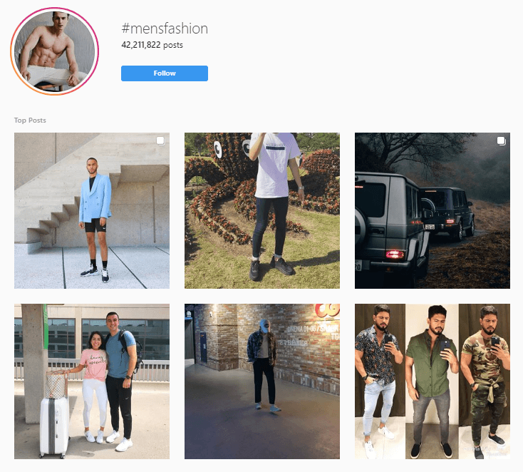 researching instagram for shoutout partners