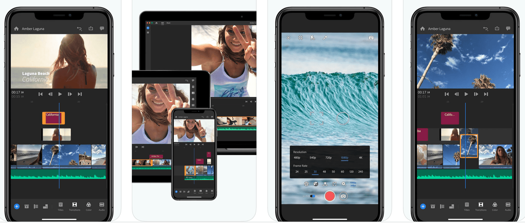 Premiere Rush - Instagram Video Editor App