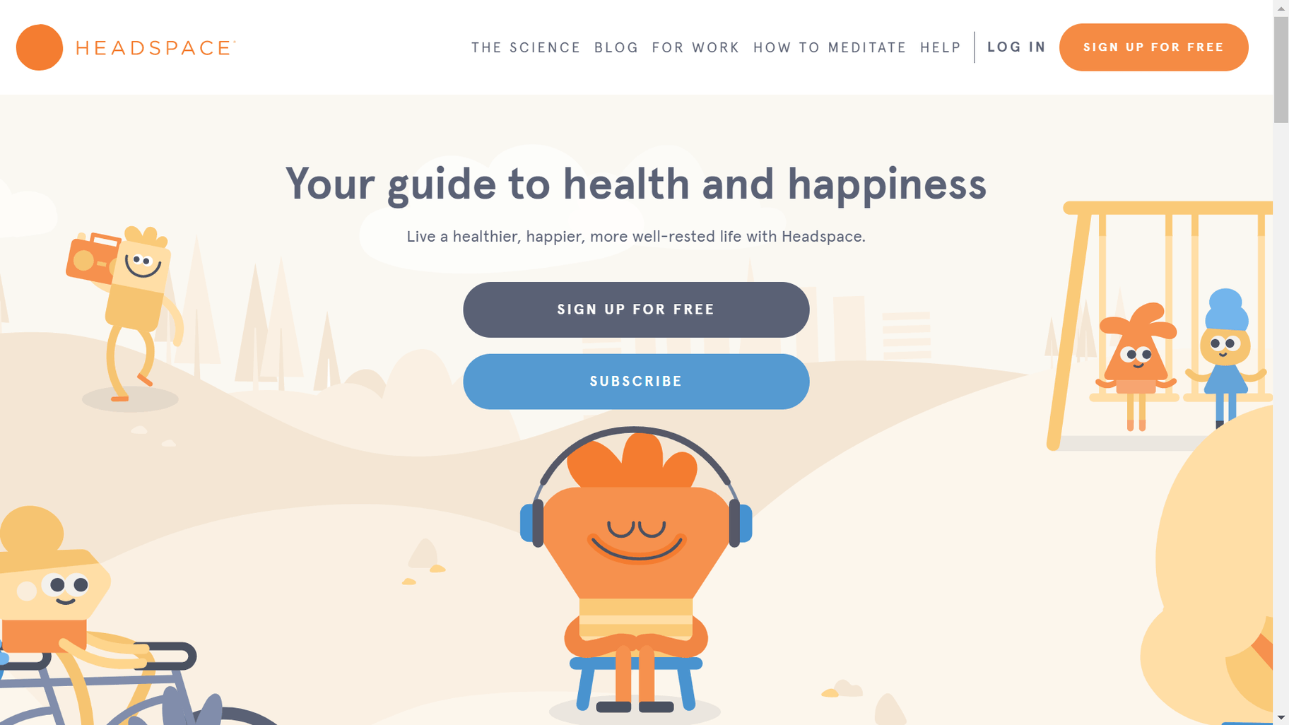 headspace brand image
