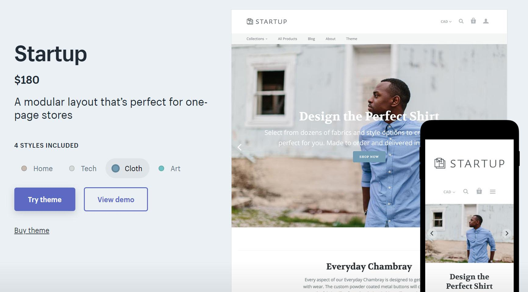 best paid shopify theme
