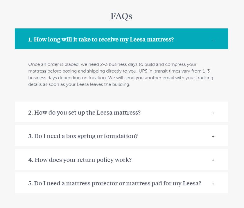 ecommerce FAQs