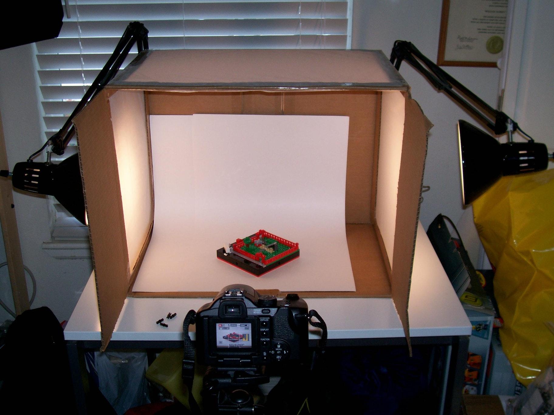 product photo lighting setup