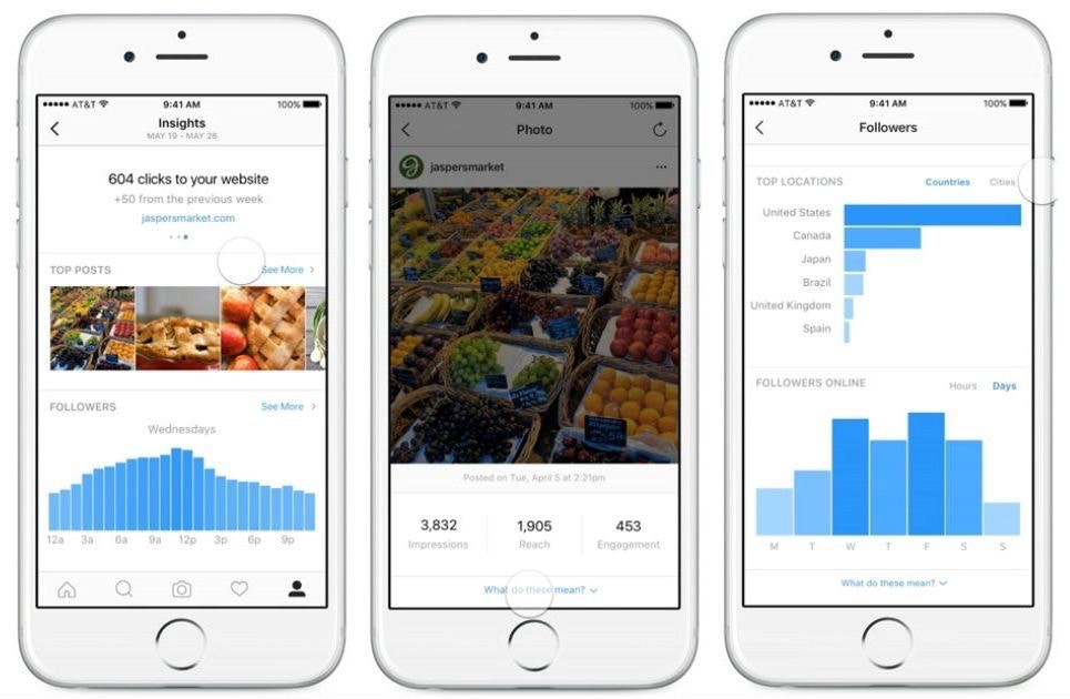 Instagram Insights Snapshot