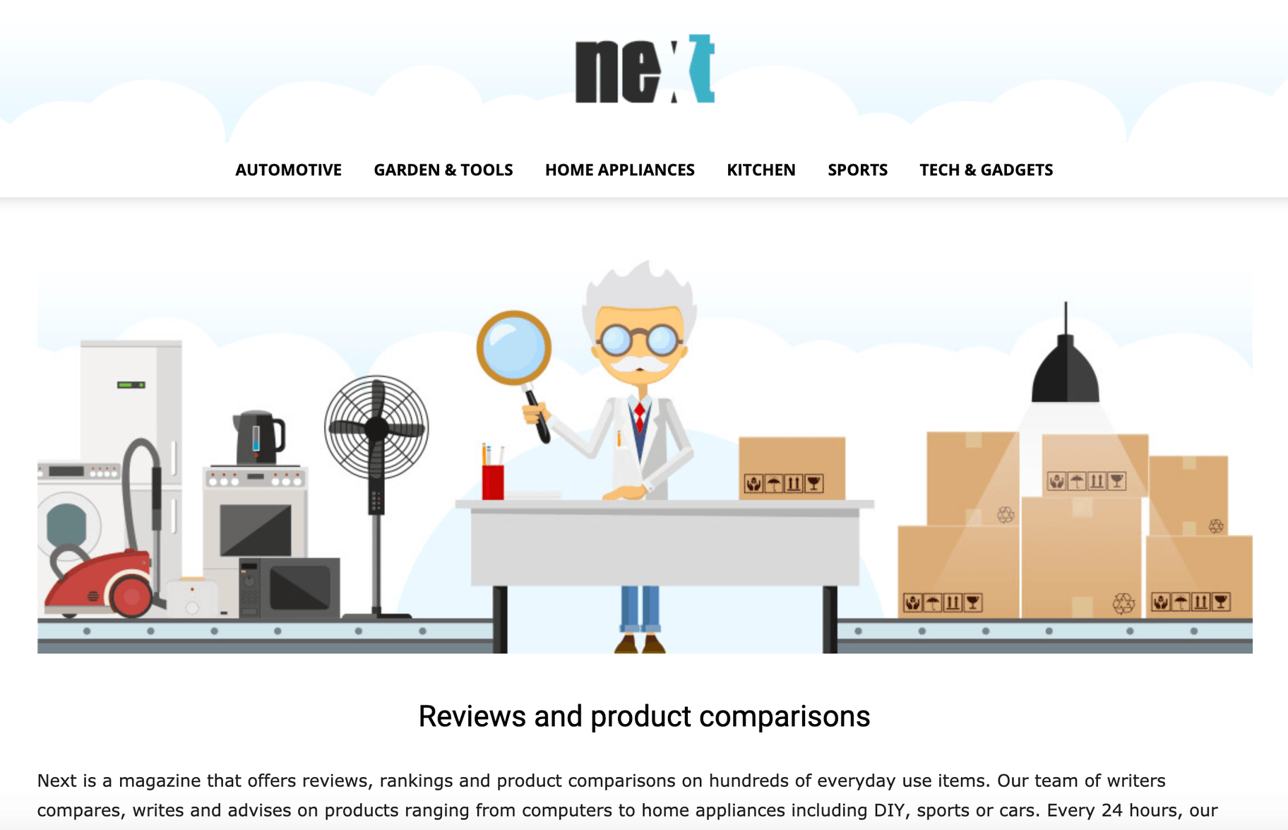 NexTag - Comparing product prices